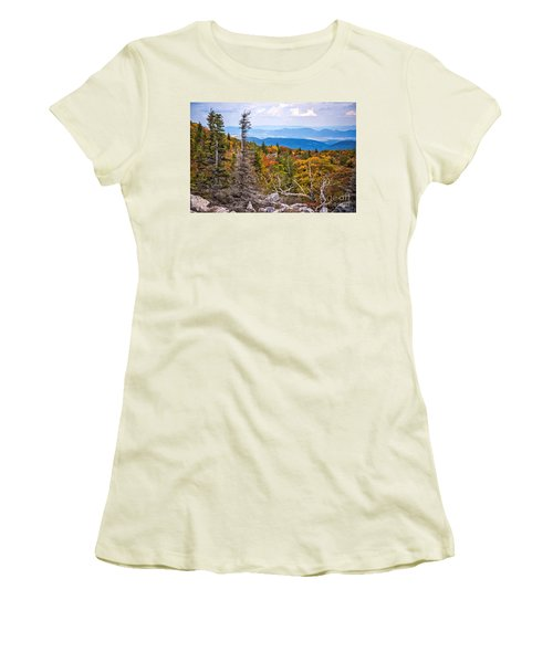 Looking East From Bear Rocks 4290c Women's T-Shirt (Athletic Fit)