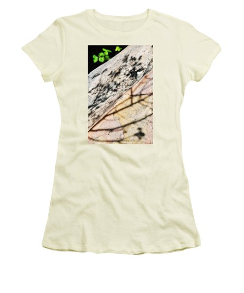 Women's T-Shirt (Junior Cut) featuring the photograph Los Padres Stone by Kyle Hanson