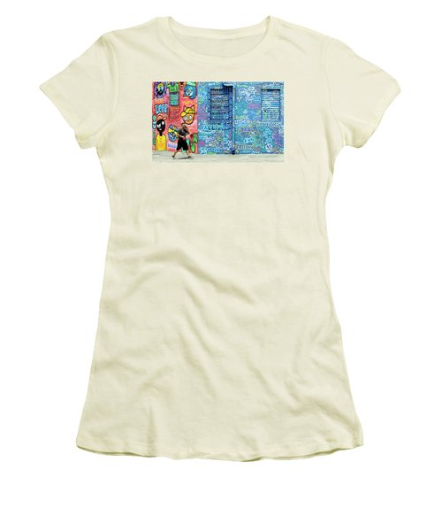 Lost In Translation Women's T-Shirt (Junior Cut) by Keith Armstrong