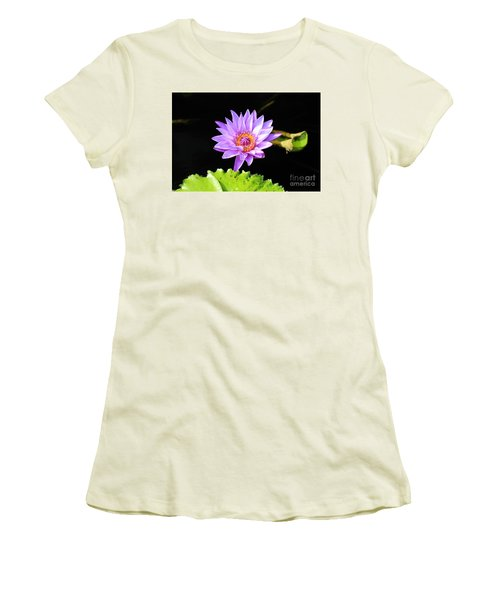 Lotus Splendor Women's T-Shirt (Athletic Fit)