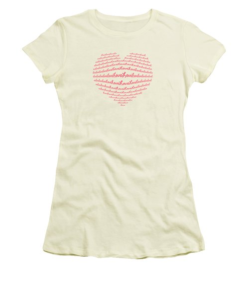 Love Boom Women's T-Shirt (Athletic Fit)