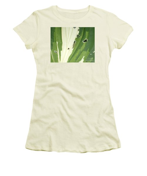 Love Is Everywhere Women's T-Shirt (Junior Cut) by Christina Verdgeline