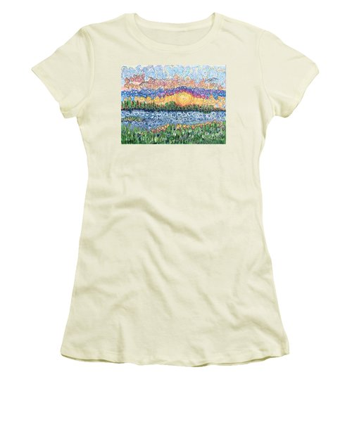 Love Is Everywhere If You Look Women's T-Shirt (Athletic Fit)