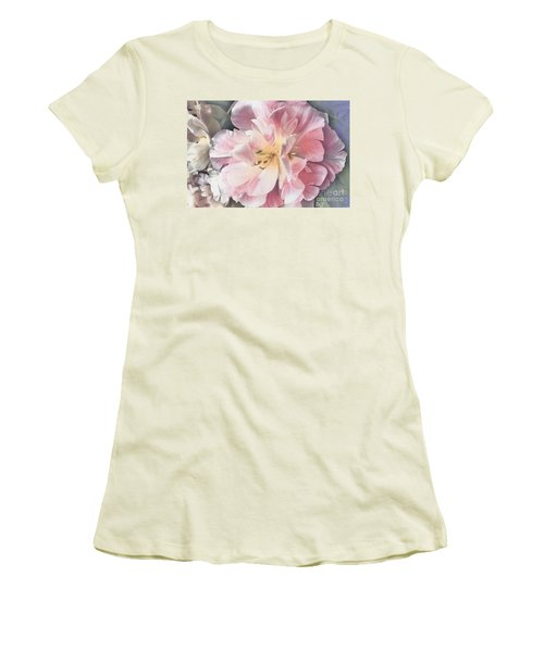 Loveliness Flower Women's T-Shirt (Athletic Fit)