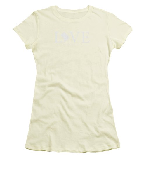 Ma Love Women's T-Shirt (Junior Cut) by Nancy Ingersoll