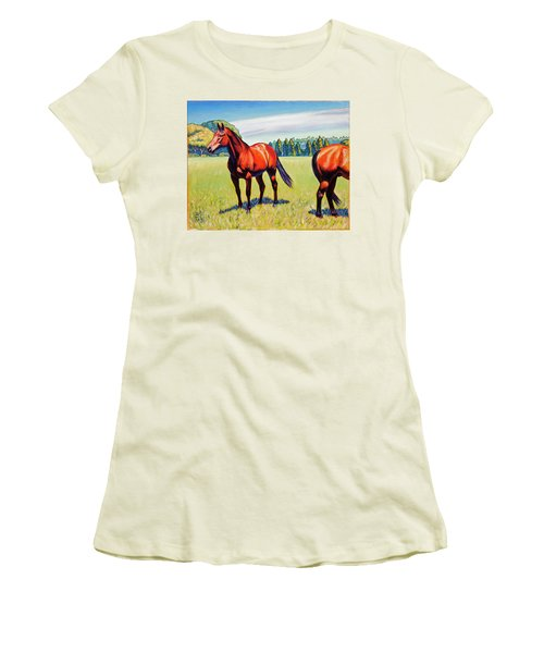Mac And Friend Women's T-Shirt (Athletic Fit)
