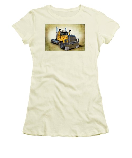Mack Truck Women's T-Shirt (Athletic Fit)