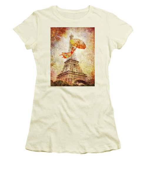 Magically Paris Women's T-Shirt (Athletic Fit)
