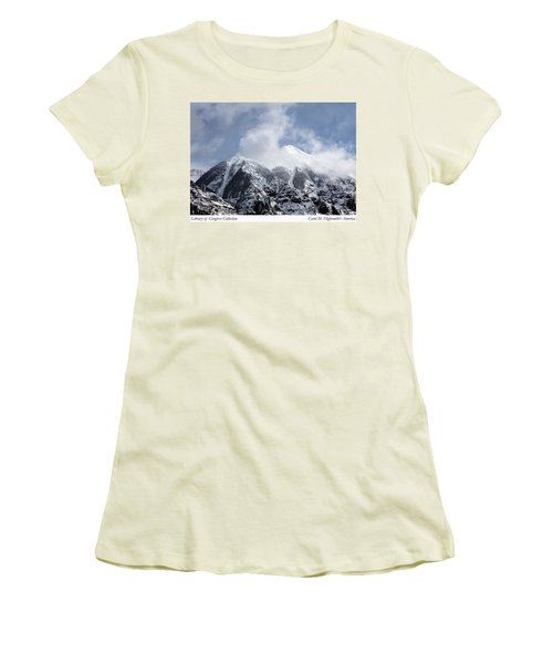 Magnificent Mountains In Telluride In Colorado Women's T-Shirt (Junior Cut) by Carol M Highsmith