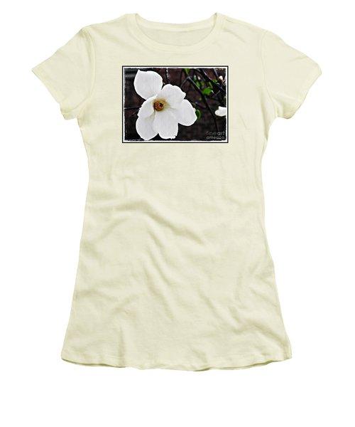 Magnolia Memories 1 Women's T-Shirt (Junior Cut) by Sarah Loft