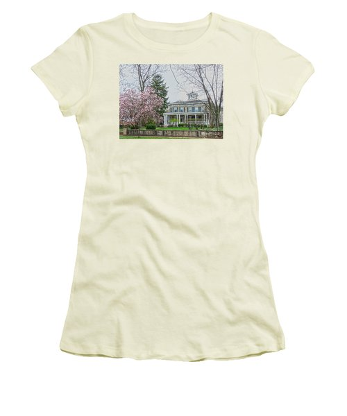 Magnolia Time Women's T-Shirt (Junior Cut) by David Bearden