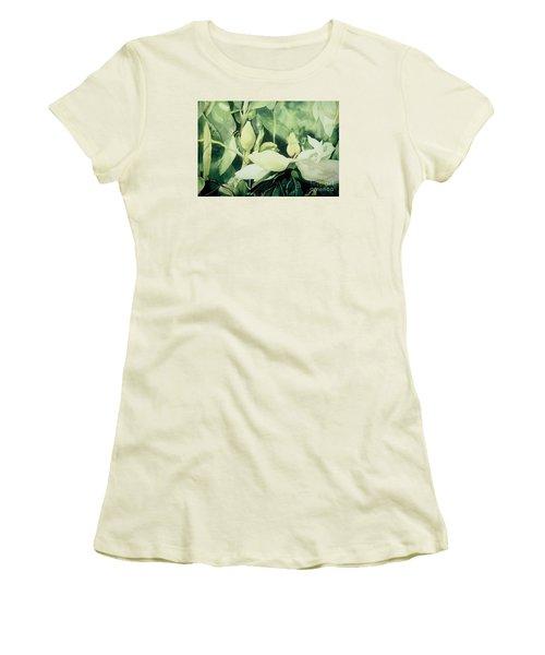 Magnolium Opus Women's T-Shirt (Athletic Fit)