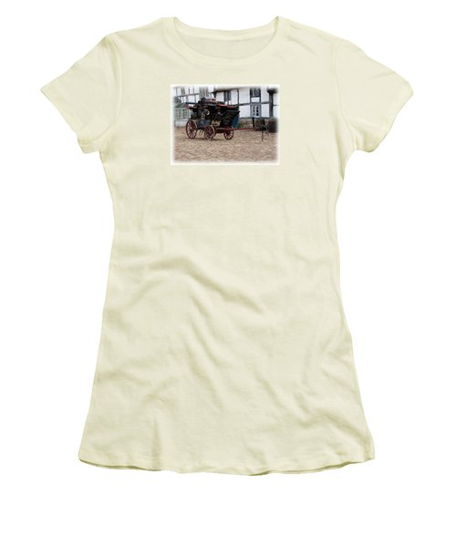 Mail Coach At Lacock Women's T-Shirt (Athletic Fit)