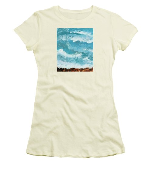 Majestic Women's T-Shirt (Junior Cut) by Nathan Rhoads