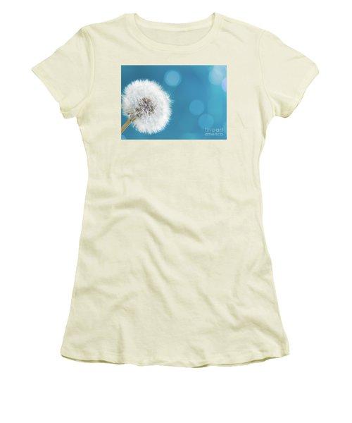 Make A Wish  Women's T-Shirt (Junior Cut) by Anastasy Yarmolovich