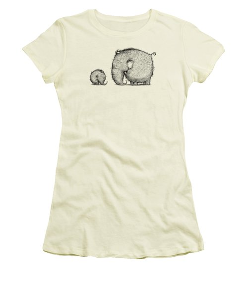 Mammothz Women's T-Shirt (Junior Cut) by Andy Catling