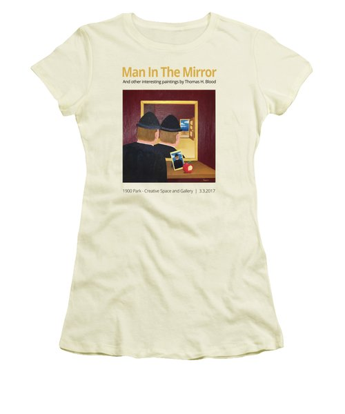 Man In The Mirror T-shirt Women's T-Shirt (Athletic Fit)