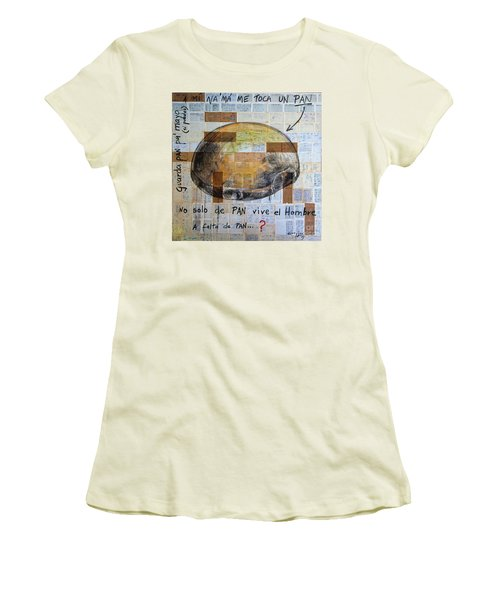Mana' Cubano Women's T-Shirt (Junior Cut) by Jorge L Martinez Camilleri