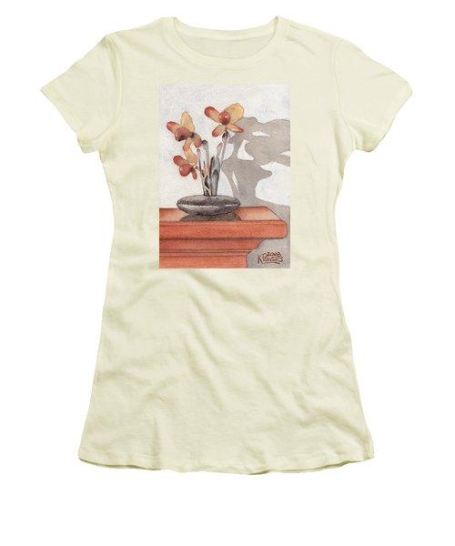 Mantel Flowers Women's T-Shirt (Athletic Fit)