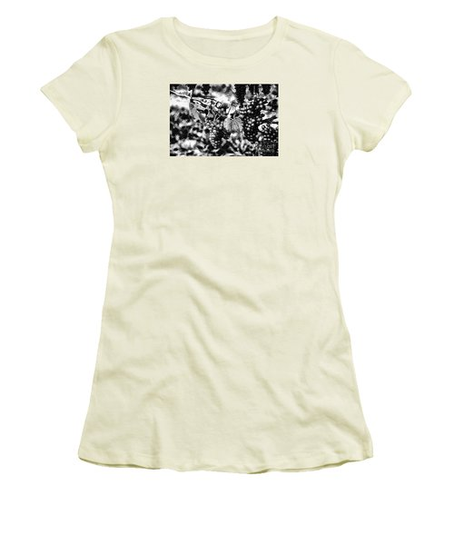 Women's T-Shirt (Junior Cut) featuring the photograph Many Grapes by Rick Bragan