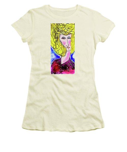Maria Women's T-Shirt (Junior Cut) by Ted Azriel
