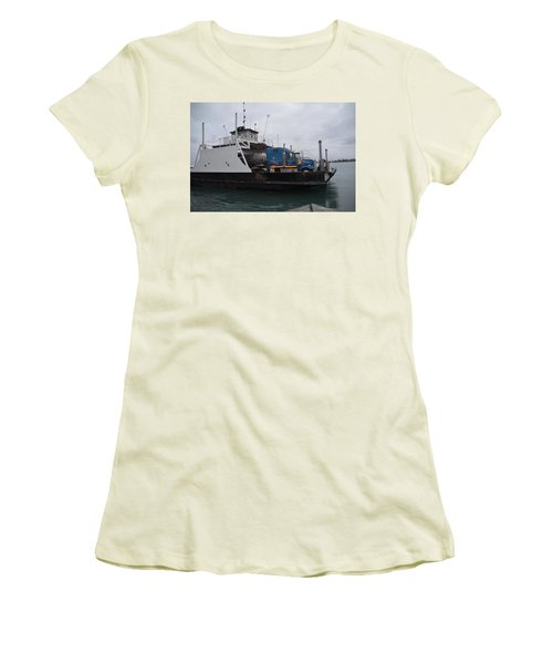 Marine City Mich Car Truck Ferry Women's T-Shirt (Athletic Fit)