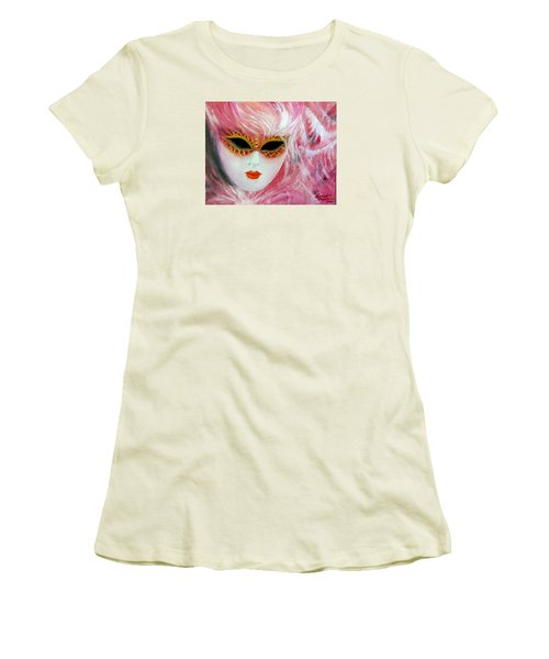 Maschera Women's T-Shirt (Athletic Fit)