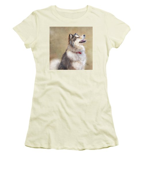 Master Of The Domain II Women's T-Shirt (Junior Cut) by Colleen Taylor