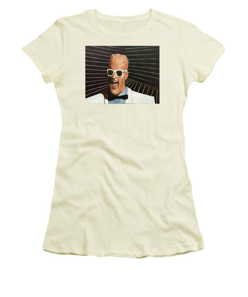 Max Headroom Women's T-Shirt (Athletic Fit)
