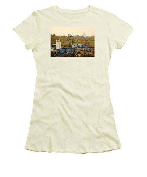Maynard Steel Women's T-Shirt (Athletic Fit)