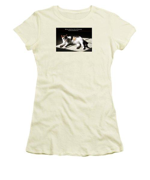 Mcg Tote Bag Women's T-Shirt (Junior Cut) by Marilyn Carlyle Greiner