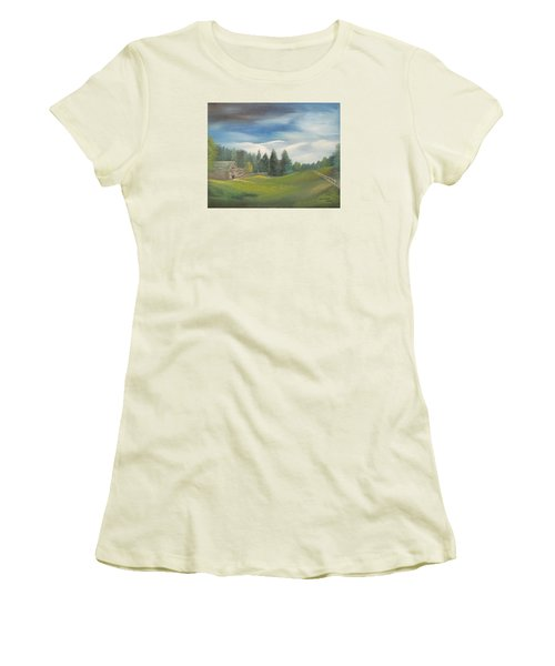 Meadow Dreams Women's T-Shirt (Athletic Fit)