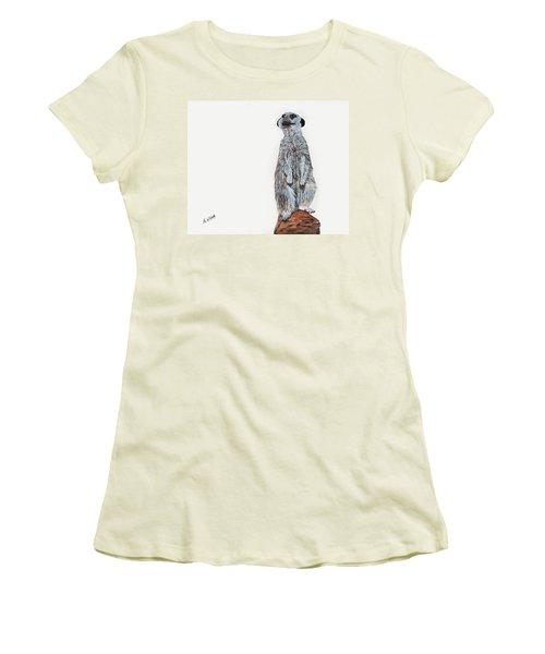 Meer Curiosity Women's T-Shirt (Athletic Fit)