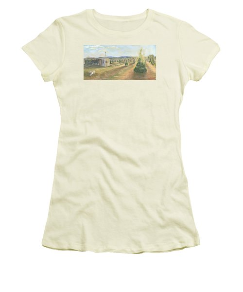 Merry Valley Women's T-Shirt (Athletic Fit)