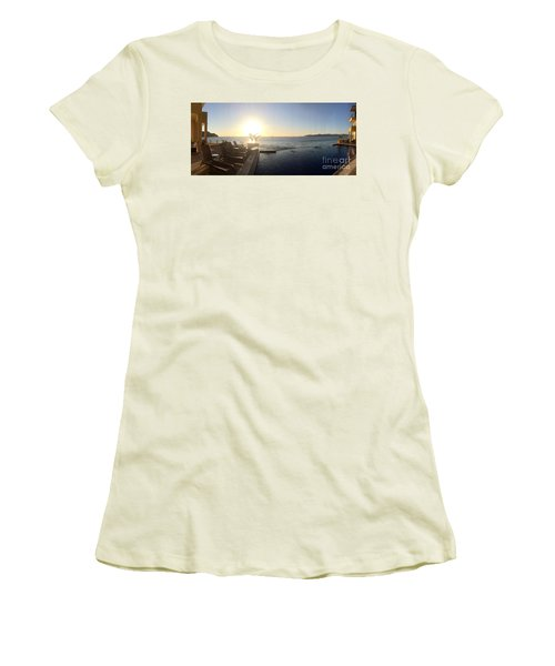 Women's T-Shirt (Junior Cut) featuring the photograph Mexico Memories 6 by Victor K
