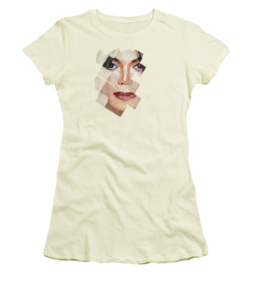 Michael Jackson T Shirt Edition  Women's T-Shirt (Junior Cut) by Yury Malkov