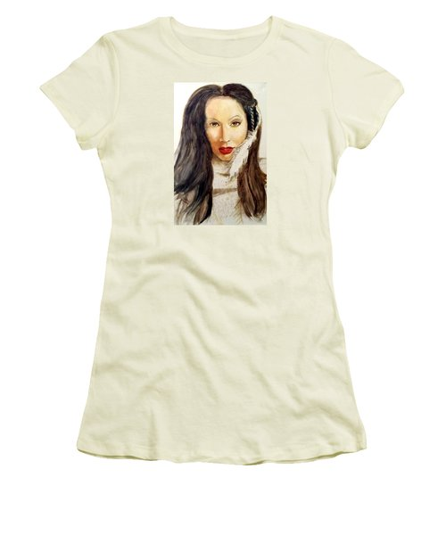 Michal Women's T-Shirt (Junior Cut) by G Cuffia