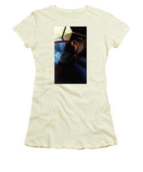 Miss You - Fox Trot Women's T-Shirt (Junior Cut) by Michelle Calkins