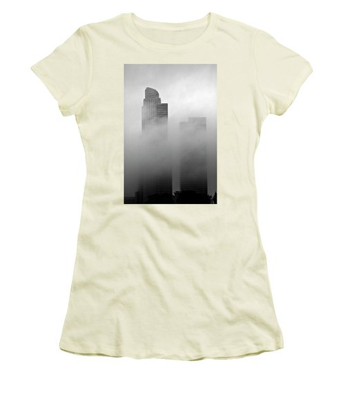 Misty Morning Flight Women's T-Shirt (Athletic Fit)