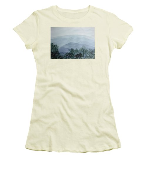 Misty Shenandoah Women's T-Shirt (Athletic Fit)