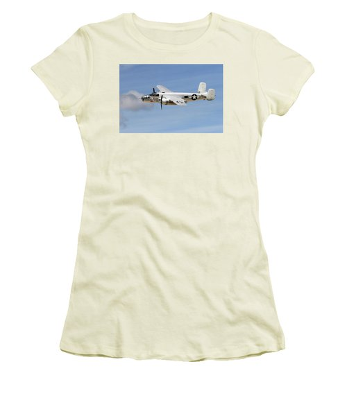 Mitchell In The Sky Women's T-Shirt (Athletic Fit)