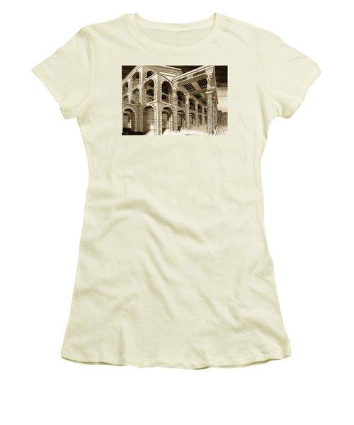Mithlond Gray Havens Women's T-Shirt (Junior Cut) by Curtiss Shaffer