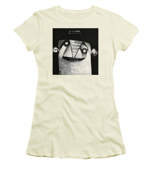 Mmxvii Masks For Despair No 3  Women's T-Shirt (Athletic Fit)