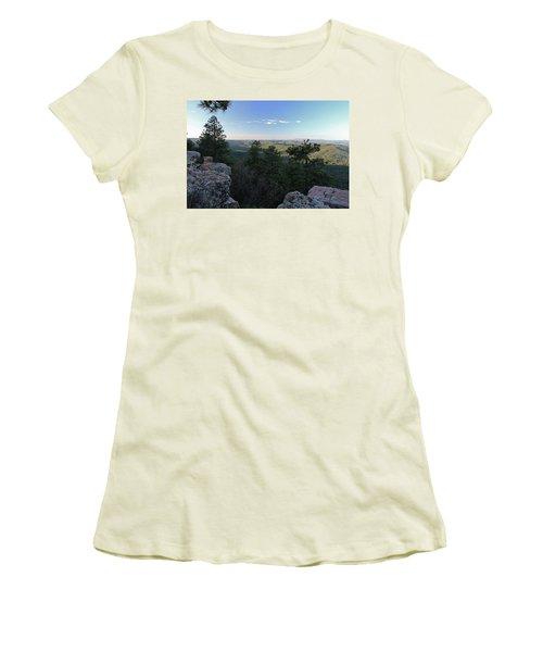 Women's T-Shirt (Junior Cut) featuring the photograph Mogollon Morning by Gary Kaylor