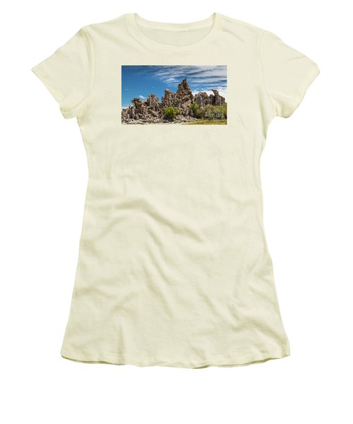 Mono Lake Tufa Women's T-Shirt (Athletic Fit)