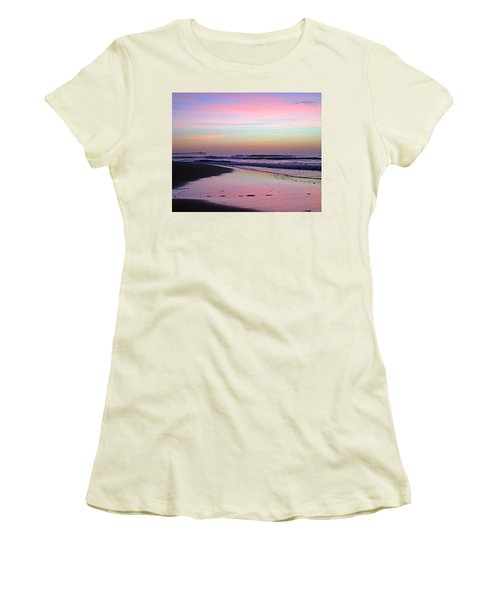 Moody Sunrise Women's T-Shirt (Athletic Fit)