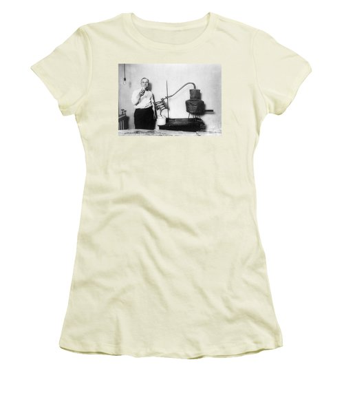 Moonshine Distillery, 1920s Women's T-Shirt (Athletic Fit)