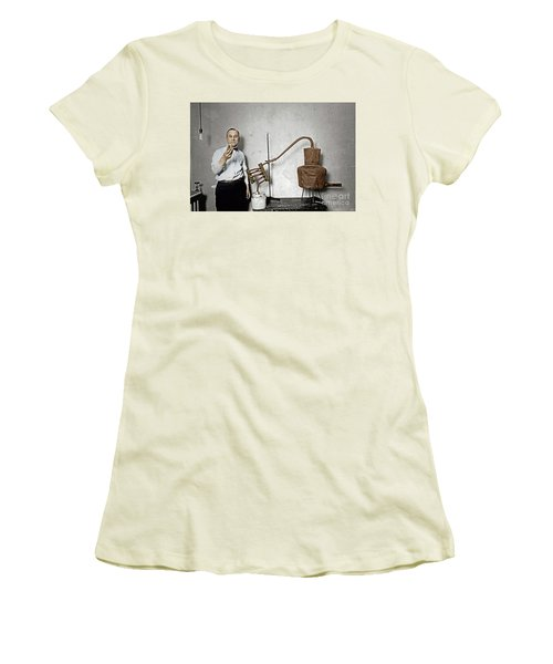 Women's T-Shirt (Athletic Fit) featuring the photograph Moonshine Distillery by Granger