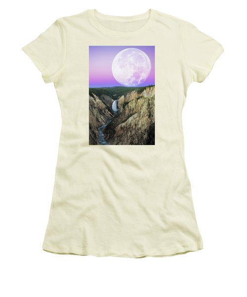 My Purple Dream Women's T-Shirt (Athletic Fit)