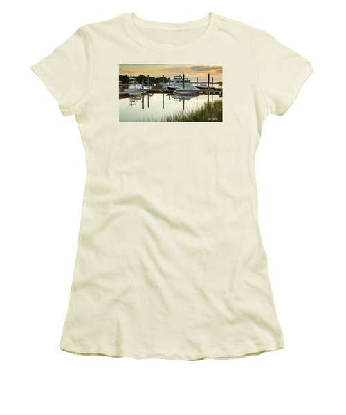 Morgan Creek Women's T-Shirt (Athletic Fit)
